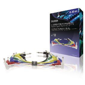 Mono-Audio Kabel 6.35mm Z�str�ka - 6.35mm Z�str�ka 0.30 m Tmav� �ed� - zv�t�it obr�zek