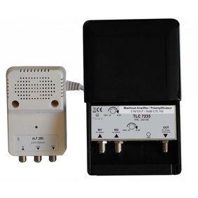 BIII / DAB  Sto��rov� Zesilova� 35 dB 470-694 MHz
