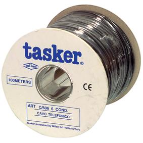 Telecom Cable 6x 7/0.12 - 100 m �ern�