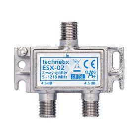 CATV Rozboèovaè 3.8 dB / 5-1218 MHz - 2 Výstupy