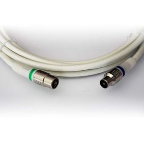 Koaxi�ln� Kabel IEC / Coax IEC Male - IEC Female P��m� 5 m B�l�