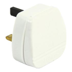 Napájecí Konektor UK / Typ G 90 ° 3 A Bílá
