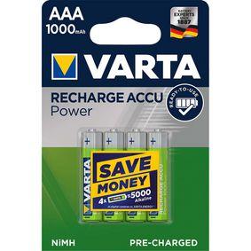 Dobíjecí NiMh Baterie AAA 1.2 V 1000 mAh 4-Blistr
