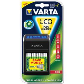 AA/AAA NiMh Nab�je�ka Bateri� 4x AA/HR6 2100 mAh