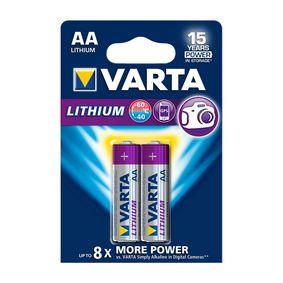 Lithiová Baterie AA 2-Blistr