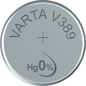 Støíbro-oxidová Baterie SR54 1.55 V 85 mAh 1-Balíèek - zvìtšit obrázek