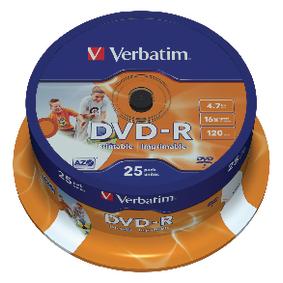 DVD 4.7 GB 25 Kusù