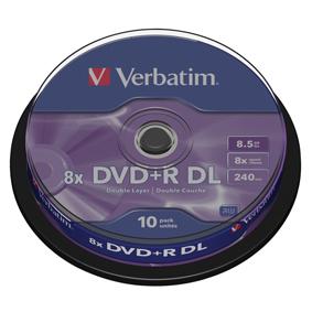 DVD 8.5 GB 10 Kusù