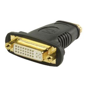 Adaptérem High Speed HDMI s Ethernetem HDMI Zásuvka - DVI-D 24 1p Zásuvka Èerná