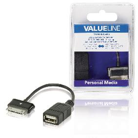 Synchronizaèní a Nabíjecí Kabel Samsung 30kolíkový Zástrèka - USB A Zásuvka 0.20 m Èerná - zvìtšit obrázek