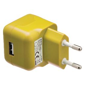 Nabíjeèka 1 - Výstup 2.1 A USB Žlutá
