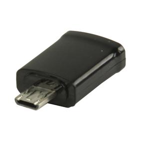 Adaptér MHL USB Micro B 11kolíkový Zástrèka - USB Micro B Zásuvka Èerná