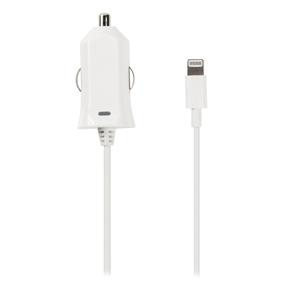 Nab�je�ka Do Auta 2.1 A Apple Lightning B�l� - zv�t�it obr�zek