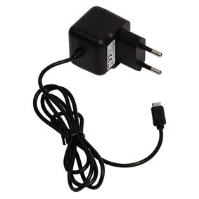 Nabíjeèka 2.1 A Micro USB Èerná
