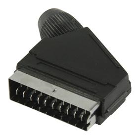 Konektor SCART Z�str�ka PVC �ern�