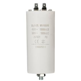 Kondenzátor 450V   Zem 50.0uf / 450 v   Aarde