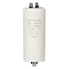 Kondenzátor 450V   Zem 60.0uf / 450 v   Aarde