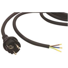 Napájecí Kabel H07RN-F 3G1.5 3.00 m Schuko / Typ F (CEE 7/7) Èerná