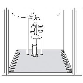 Odkapávací Miska pod Skøíòku 66 - 79 cm