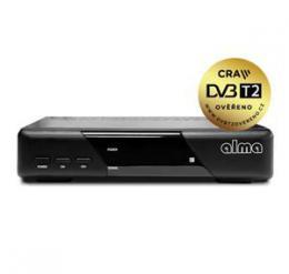 ALMA DVB-T2 HD 2820 p�ij�ma� s HEVC DVB-T2 ov��eno