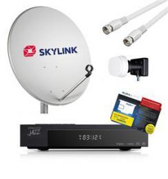 Dotované Amiko 8550 - Full HD Skylink ready -kompletní set pro montáž