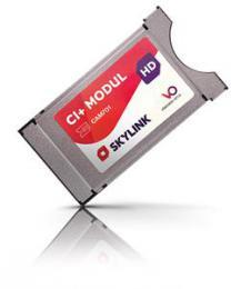 Dotovan� CAM 701 Viaccess s kartou Skylink-logo Skylink