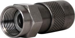 F konektor kompresní PPC EX-6 PE 7 mm venkovní