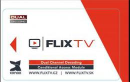 FLIXCAM - dekodovac� modul Conax dual decrypt pro FLIX TV