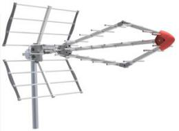 FTE Diamond - DVB-T/T2 anténa s LTE 5G filtrem 17,5 dB
