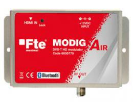 FTE HD modulátor MODIG AIR do HDMI s Bluetototh