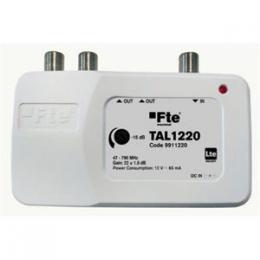 FTE linkový zesilovaè TAL 1420 s LTE filtrem a regulací zisku, 2x výstup