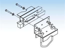 ISKRA adapt�r pro vertik�ln� uchycen� ant�n