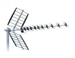 ISKRA DTX-48 FCL - DVB-T/T2 anténa s F konektorem, LTE filtr, 11-16 dB