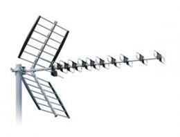 ISKRA DTX-48 FCL+ - DVB-T/T2 anténa s F konektorem, LTE/GSM filtr, 11-16 dB