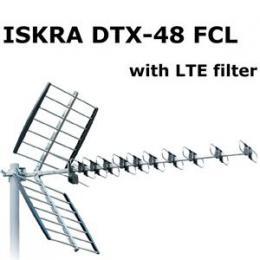 ISKRA DVB-T ant�na DTX-48F FCL LTE filtr s F konektorem 11 - 16 dB