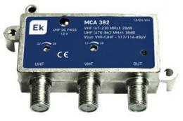 ITS Domovní zesilovaè MCA 402 L se zdrojem a LTE filtrem