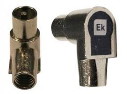 ITS IEC konektor samec,  �hlov� profil, kabel 6,6 - 6,9 mm