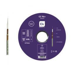 ITS Koaxiální kabel celomìdìný CC 96+, balení 100m