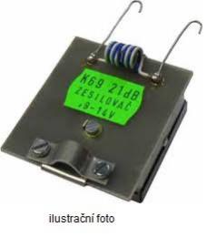 OEM anténní pøedzesilovaè DAB 22 dB