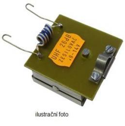 OEM anténní pøedzesilovaè kanálový 26 dB (K 55 až 57)