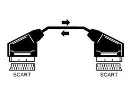 OEM AV kabel Scart - Scart 3m, 21pin