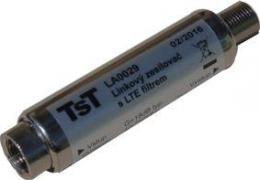 OEM linkový zesilovaè UHF 18 dB/5 V s LTE filtrem na F konektory