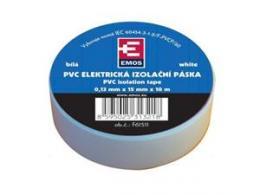 OEM páska izolaèní PVC 15mm/10m bílá