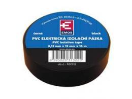 OEM páska izolaèní PVC 15mm/10m èerná