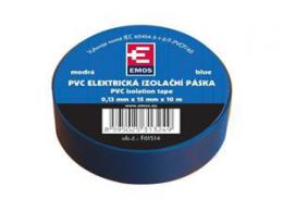 OEM páska izolaèní PVC 19mm/9m modrá