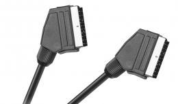 OEM SCART kabel st�n�n�, d�lka 0,7m