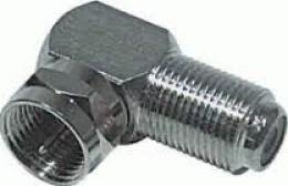 OEM spojka �hlov� F-konektor / F-z�suvka