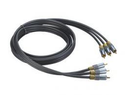 OPTICABLE kabel 3x cinch(M) - 3x cinch(M) Premium 3m