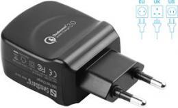 Sandberg - USB nabíjeèka, QC, 3A