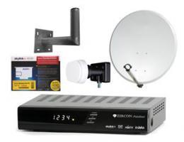 SET pro mont� Skylink - kompletn�, Dotovan� Multibox HD  + Karta Skylink + Mont�n� set Skylink